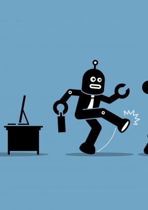 หุ่นยนต์แย่งงาน