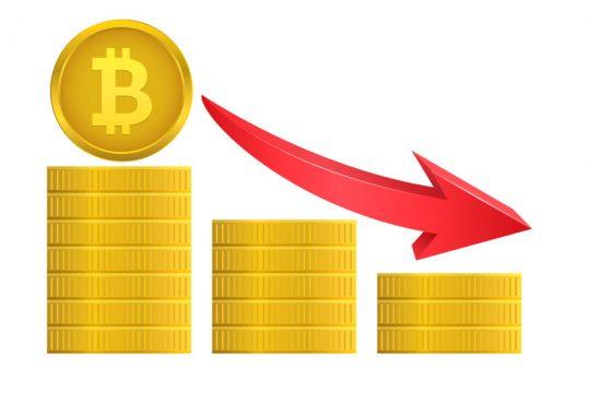 bitcoine down
